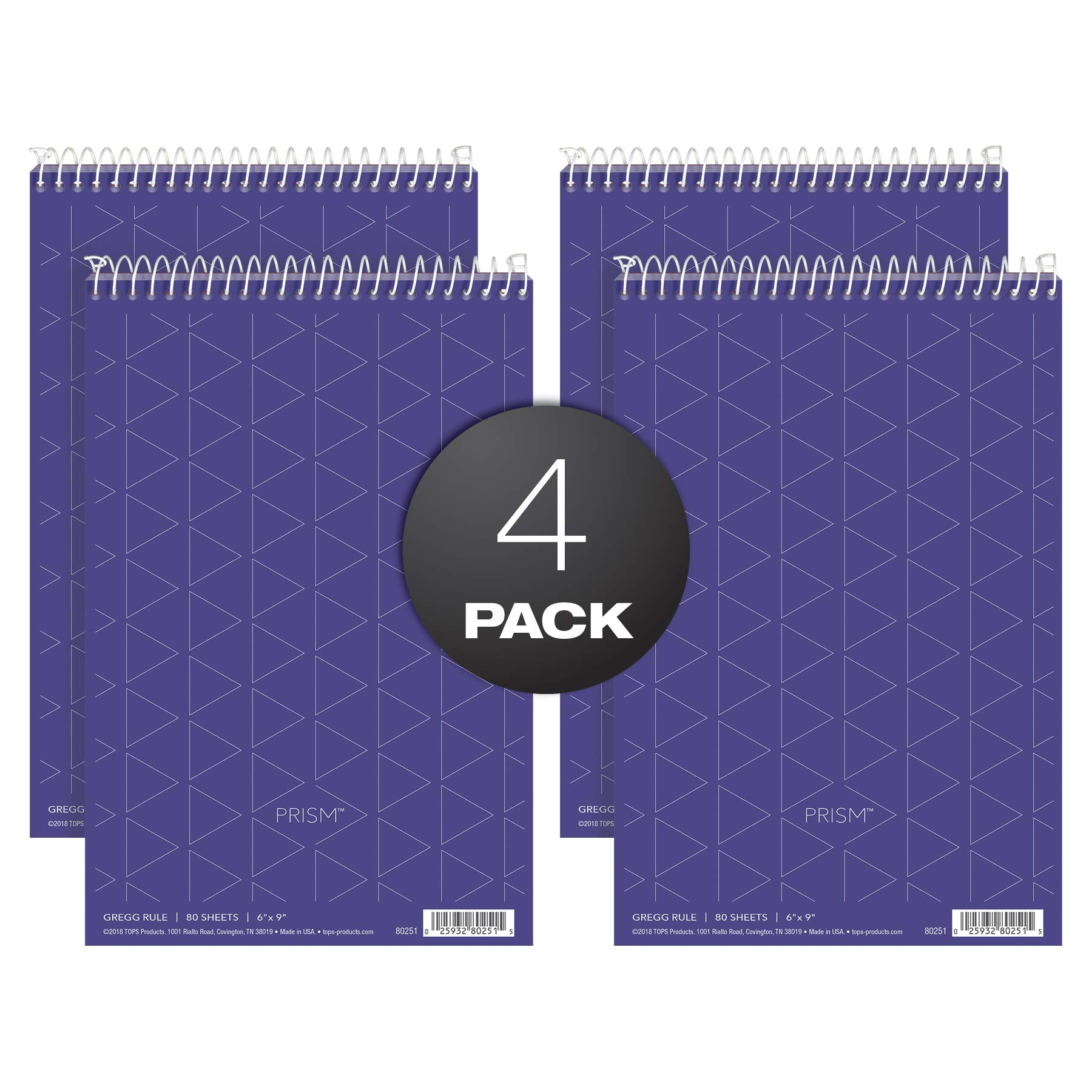 TOPS Gregg Prism Steno Notebooks (TOP80264) by TOPS