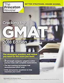 Gmat official guide 2018 book online gmac graduate management cracking the gmat with 2 computer adaptive practice tests 2018 edition the strategies fandeluxe Gallery