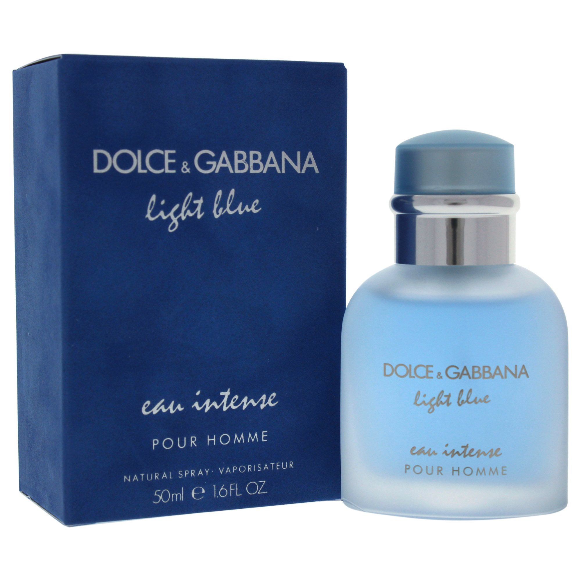 665bde46cd219d Amazon.com   Dolce   Gabbana Light Blue Intense Eau de Parfum Spray for Men,  1.6 Ounce   Beauty