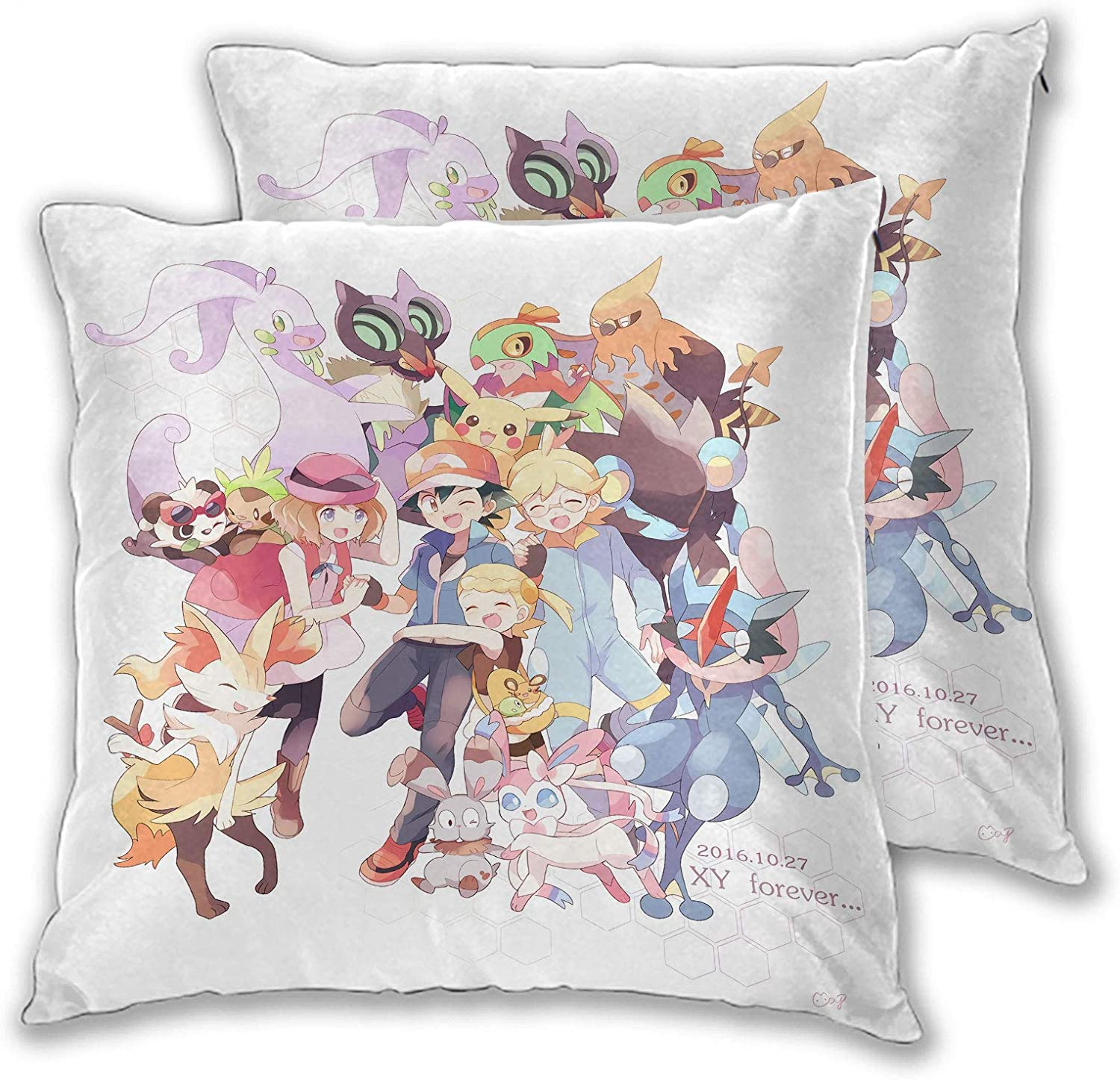 Anime Cushion Pillow of furniture Sofa Polyester 45x45cm for sofa bed