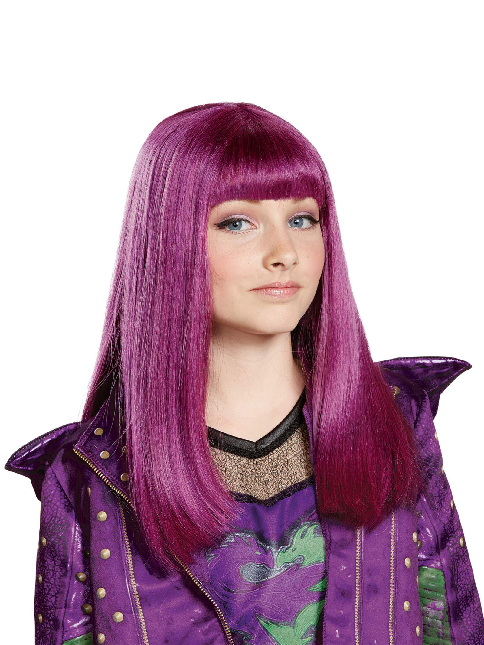 Disney Mal Descendants 2 Wig, One Size by Disguise