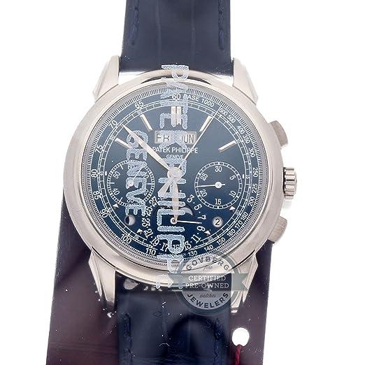 Patek Philippe Grand Complications 5270G-019 - Reloj mecánico de viento (certificado de autenticidad