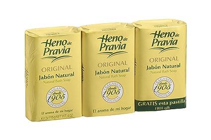 Heno de Pravia Jabón natural - 3 Piezas