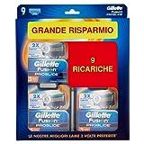 Gillette Testine di Ricambio per Rasoio - Confezione da 9 Ricariche