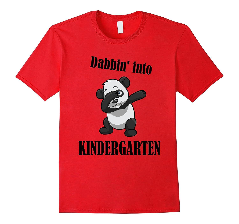 back to school Kindergarten dabbing panda Tshirt-Art
