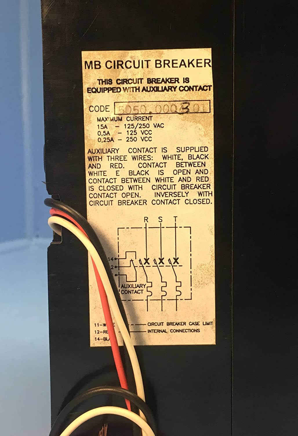 Wiring Aircraft Circuit Breakers