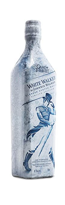 White Walker by Johnnie Walker Blended Whisky – Limited Edition Game of  Thrones – From the four corners of Scotland to your glass – 70cl