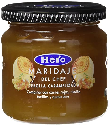 Hero - Maridaje del chef - Mermelada de cebolla - 215 g - [Pack de