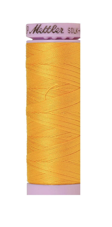 Mettler Silk-Finish Solid Cotton Thread, 164 yd/150m, Citrus by Mettler   B00PKJCLEO