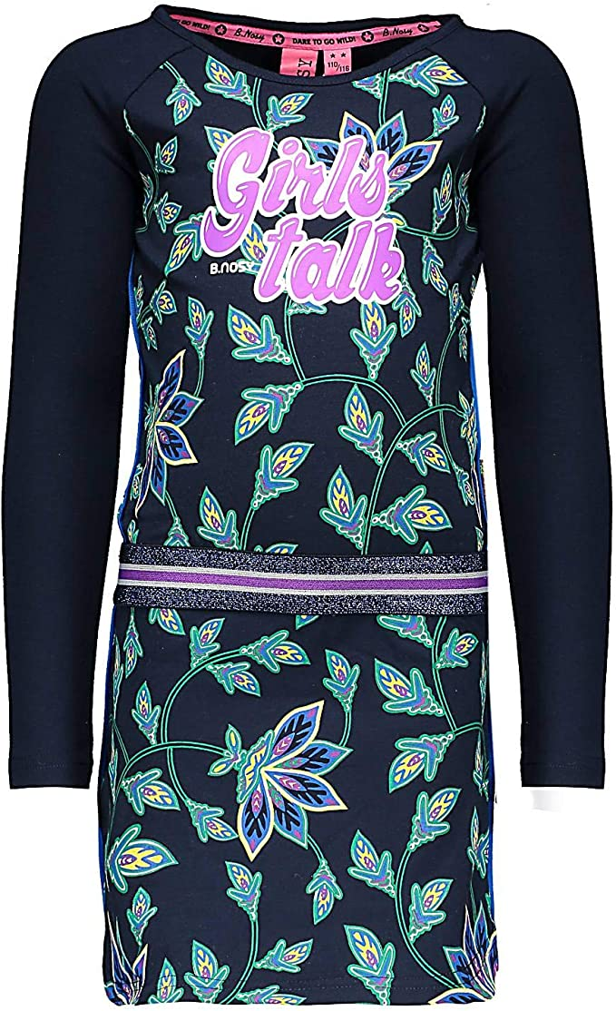 Nosy ♥ Fille Robe Manches longues Black Taille 110-164 ♥ y909-5875-099 ♥ B