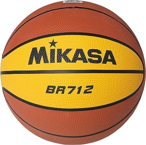 MIKASA Basketball BR 712 Balón de Baloncesto, Adultos Unisex ...