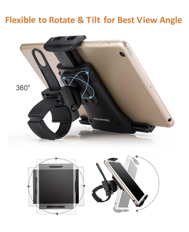 AboveTEK bicicleta todo en uno Soporte para iPad / iPhone Soporte para tablet: Amazon.es: Electrónica