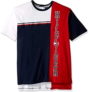 496d403cd1a4 Tommy Hilfiger Men's Adaptive Seated Fit T Shirt with Adjustable Closure
