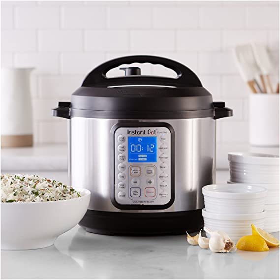 Sale alerts for  Instant Pot DUO Plus 60, 6 Qt 9-in-1 Multi- Use Programmable Pressure Cooker, Slow Cooker, Rice Cooker, Yogurt Maker, Egg Cooker, Sauté, Steamer, Warmer, and Sterilizer - Covvet