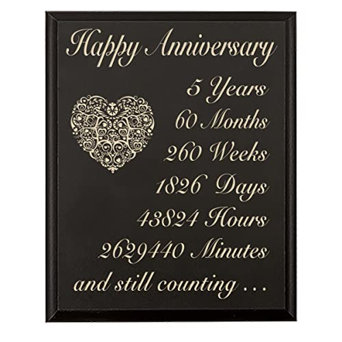 5th Year Wedding Anniversary Gifts For Him: 5th Anniversary Wood Gifts For Him: Amazon.com