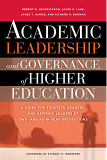 Amazon the jossey bass reader on nonprofit and public academic leadership and governance of higher education a guide for trustees leaders and fandeluxe Gallery