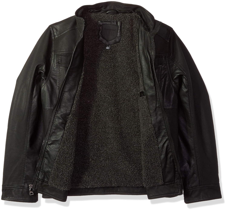 Urban Republic Boys Textured Pu Jackets 6349B