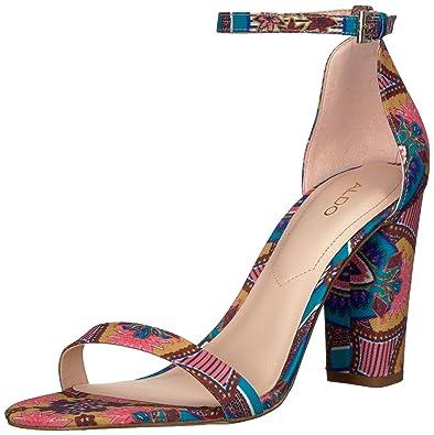 60d34ea17cd ALDO Women s MYLY Heeled Sandal Teal 11 ...