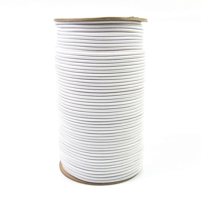 100 Feet Powersport Parts 2 U Inc Marine Masters 3//16 100ft White Bungee // Shock Cord Crafting Stretch String Tie Down Trailer Strap