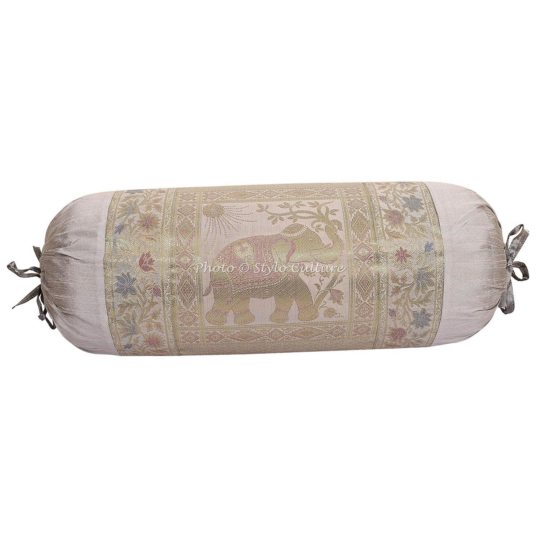 Stylo Culture Elefante Cilíndrica Fundas De Almohadas 70x40 ...