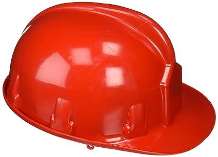 Wolfapck 15030023 - Cascos para obra, color rojo