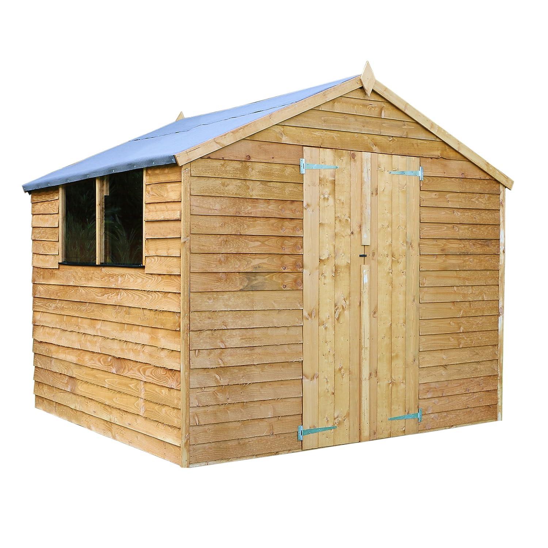 wood q brushwood box at diy prd effect departments storage b plastic bq garden