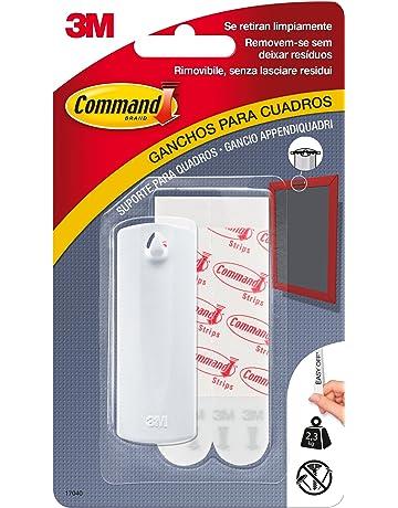 Command 17040 Ganchos soporte para cuadros Blanco Pequeñas