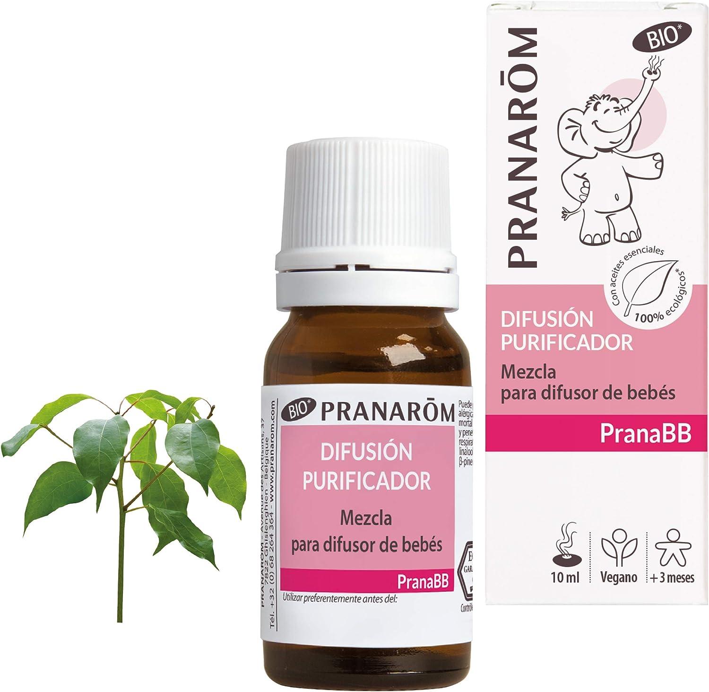 Pranarom Pranabb - Difusión Purificador - Mezcla para difusor - 10 ml