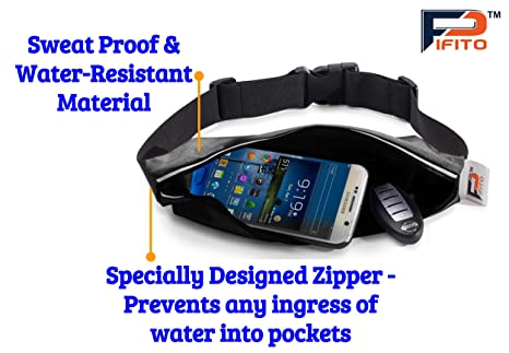 f7ee94d88d12 Running Belt by Pifito (TM) - Finest Waist Pack for iPhone ...