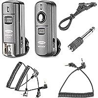 Neewer® FC 16Canal Plus 2.4GHz 3en 1/Flash Studio Déclencheur de flash radio avec déclencheur pour Canon Rebel T3XS T4i T3i T2i T1i XSi EOS 1100D 1000D 700D 650D 600D 60D 550D 500D 450D 100D, EOS 1D Mark IV 1D Mark III 5D Mark III 5D Mark II 50D 40D 30D 20D 7D 5D 6D