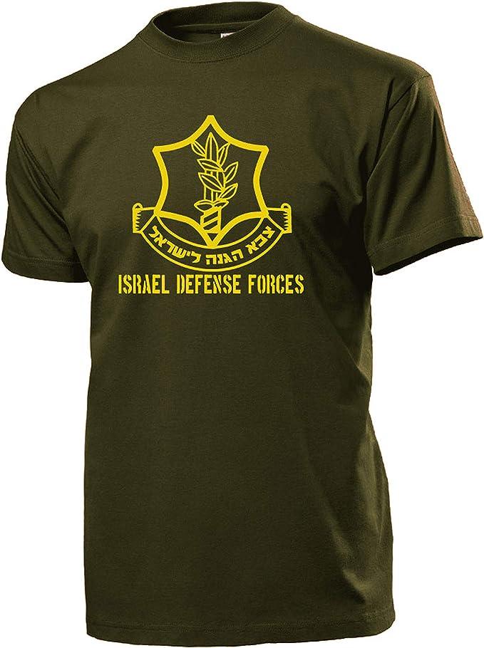 Israel Defense Forces Wappen Verteidigungs Kräfte T Shirt #4344