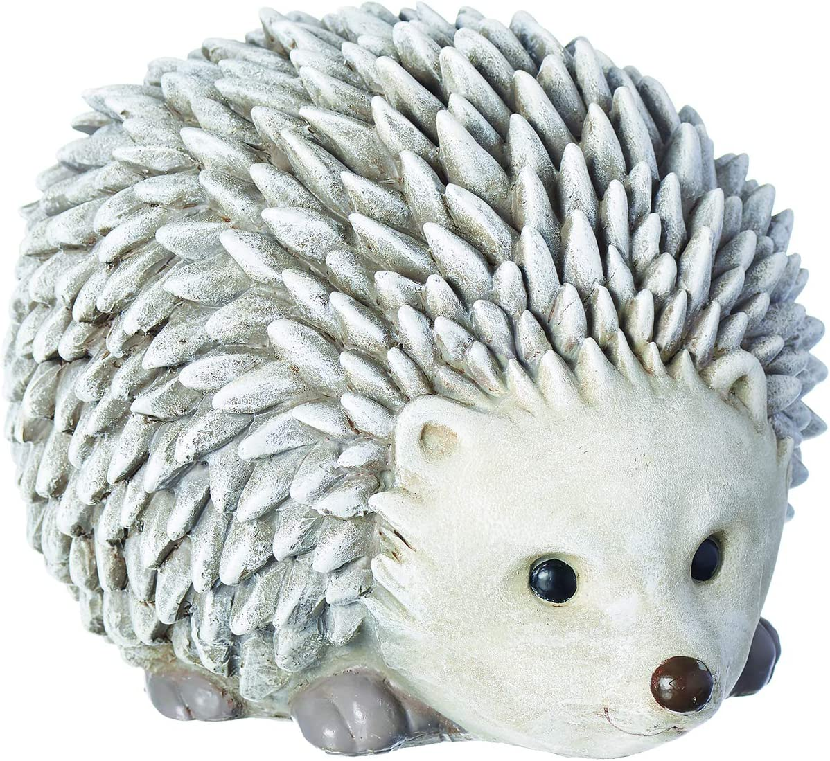 """Roman - Hedgehog Bluetooth Speaker Pudgy Pal, 6.25"""" H, Garden Collection, Resin and Stone, Decorative, Home Outdoor and Indoor Decor, Durable, Long Lasting"""