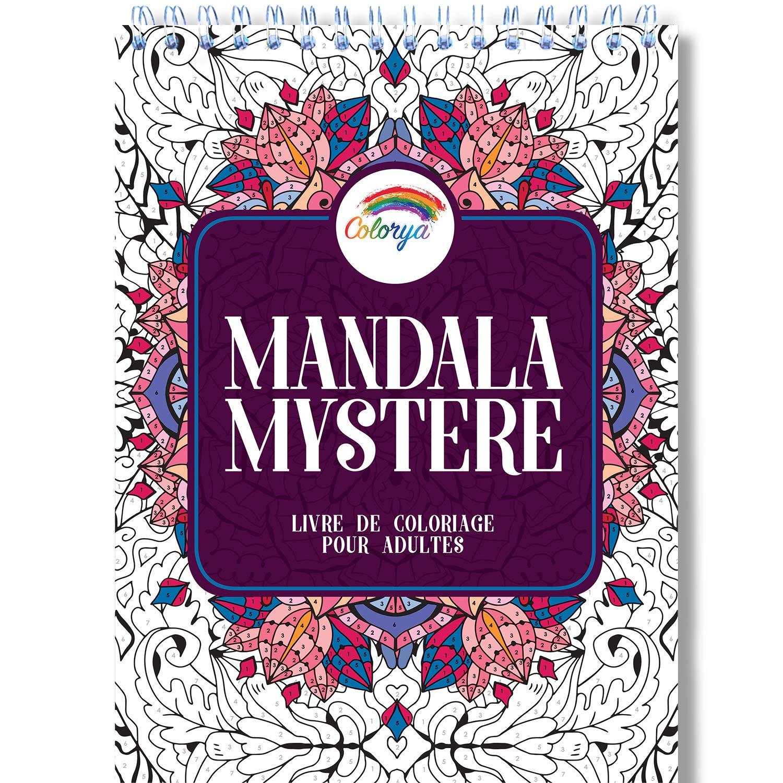 Livre De Coloriage Adulte Coloriage Mystere Mandala Adulte Le