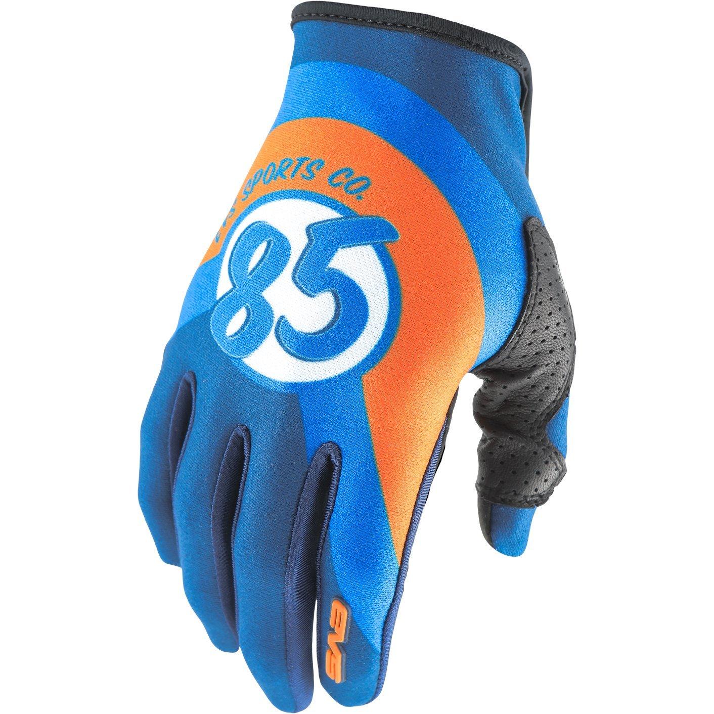 EVS Sports Unisex-Adult Slip On Glove Cosmic Dark Blue Medium GL18SOCO-DKBU-M
