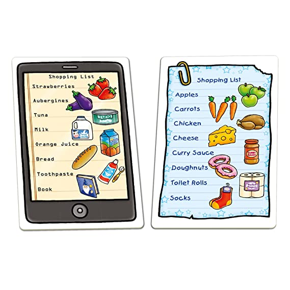 Amazon Com Orchard Toys Shopping List Children S Game Multi One