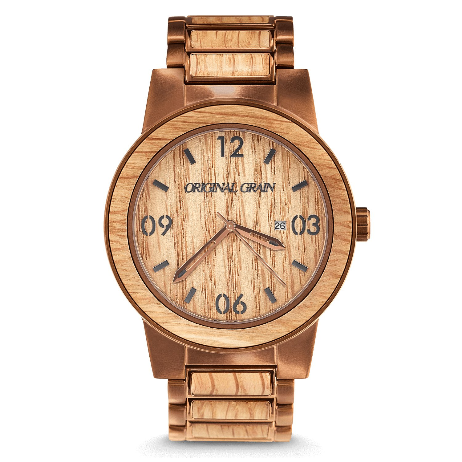 minimalist true woodgrain portfolio watches flow wood luxury gadget