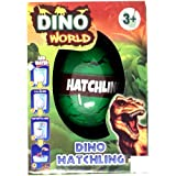 Dinosaur Dino Hatching Egg for Kids by Laeto Toys Great for Boys Inspired by Jurassic Park 6 Different Colours of Eggs Ideal Gifts for Easter Christmas Stocking Birthday or Party Bag Filler Hatch Ems