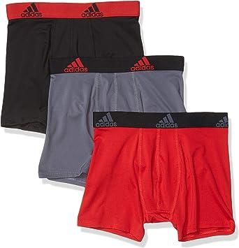 adidas Sport Performance Climalite Boxer Briefs Underwear (3-Pack) - Ropa Interior atlética Niños: Amazon.es: Ropa y accesorios