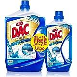 Dac Disinfectant Gold Ocean Breeze 3+1L