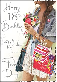 Greeting Card JJ3576 Happy 18th Birthday
