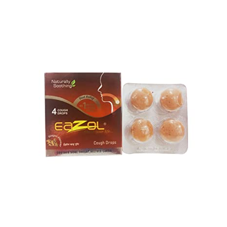Buy Eazol Cough Drops Ginger 40 Capsules Online At Low Prices In India Amazon In