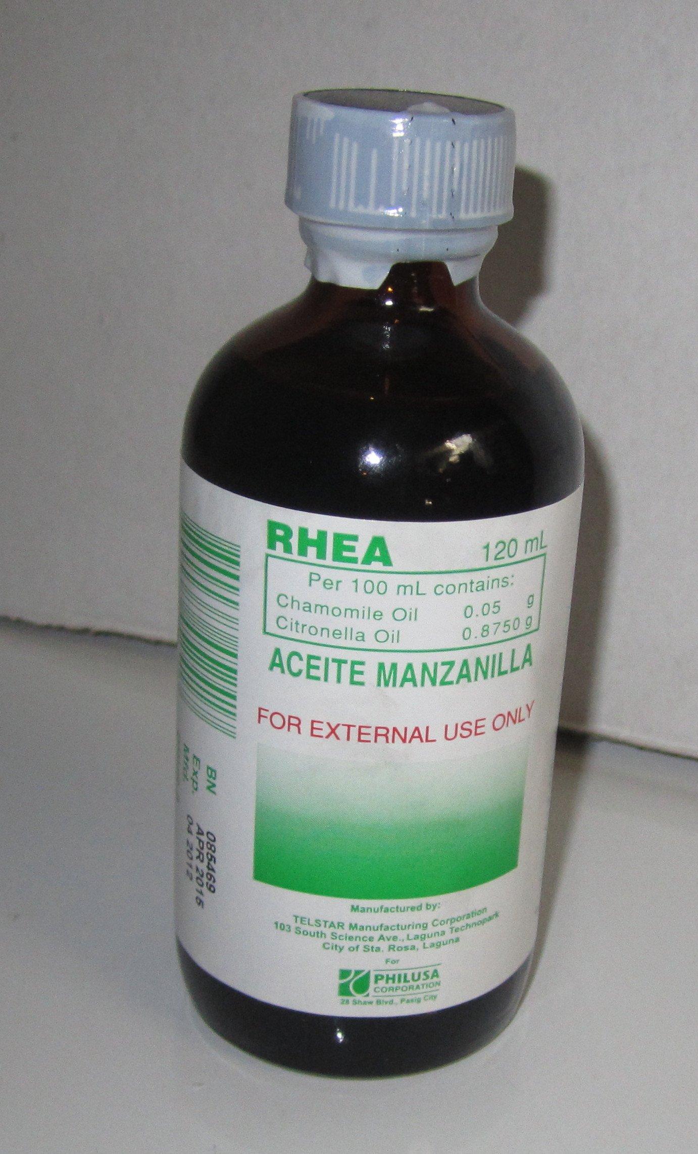 Chamomile Oil - Aceite De Manzanilla - 120 ml Bottle from PhilUSA Corporation