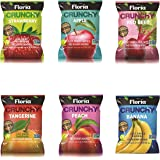 REV-Dried Fruit Crisps, Variety Pack, Healthy on-the-go Snack, 0.63 Ounce Single Serve Bags (Pack of 10), Real Crunchy Fruits