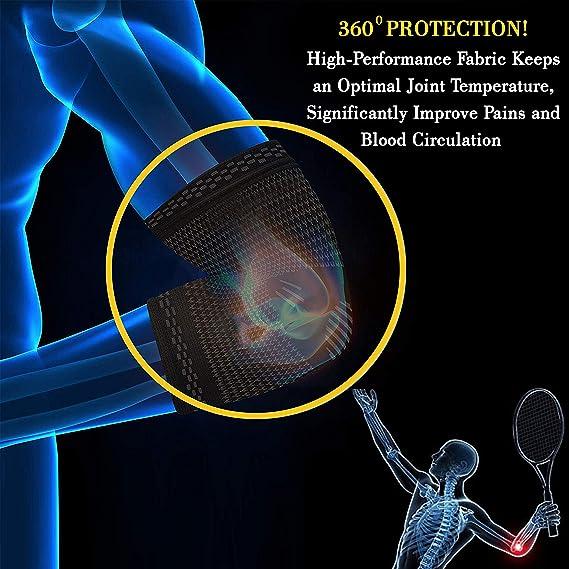 Férula Compresión Codera para Alivio del Dolor Tendinitis, Artritis, Vendaje de Pequeña (Small): Amazon.es: Salud y cuidado personal