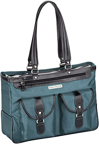 Clark Mayfield Marquam Metro Laptop Handbag 18.4 Deep Teal