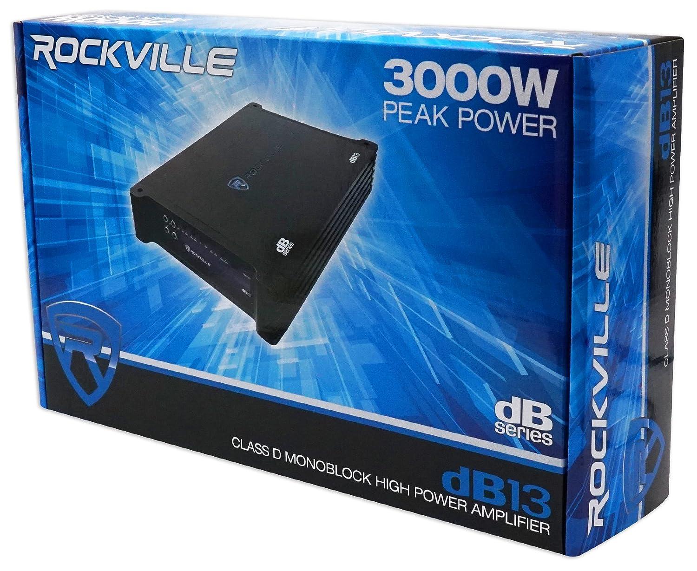 Amazon.com: (2) Polk Audio DB1242SVC 12 2220w Car Audio Subwoofers+Mono Amplifier+Amp Kit: Car Electronics