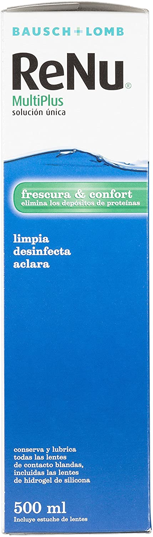 BAUSCH + LOMB - Renu® MultiPlus Solución de Mantenimiento - 500 ml: Amazon.es: Salud y cuidado personal