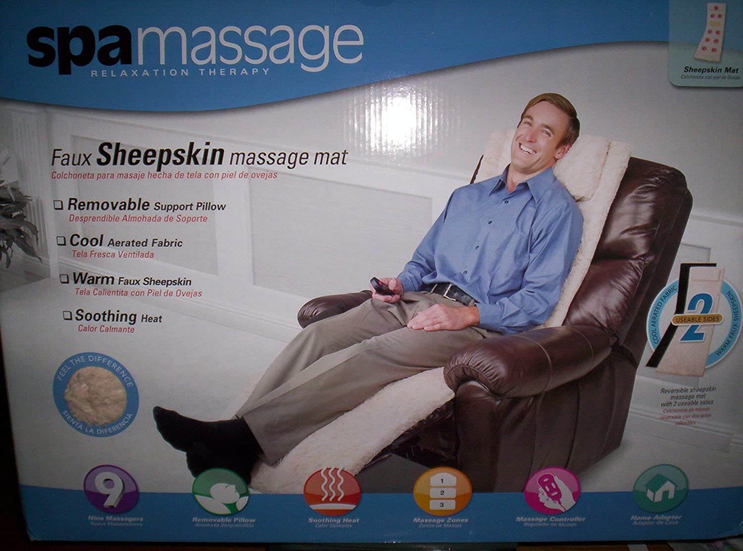 Amazon.com: Spamassage Relaxation Therapy/Sheepskin Massage ...
