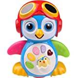 Musical Dancing Penguin Toy For Boys and Girls Kids or Toddlers TG655 - Features different Modes, lights, Sounds - Fun Storytelling Toy By ThinkGizmos (Trademark Protected)