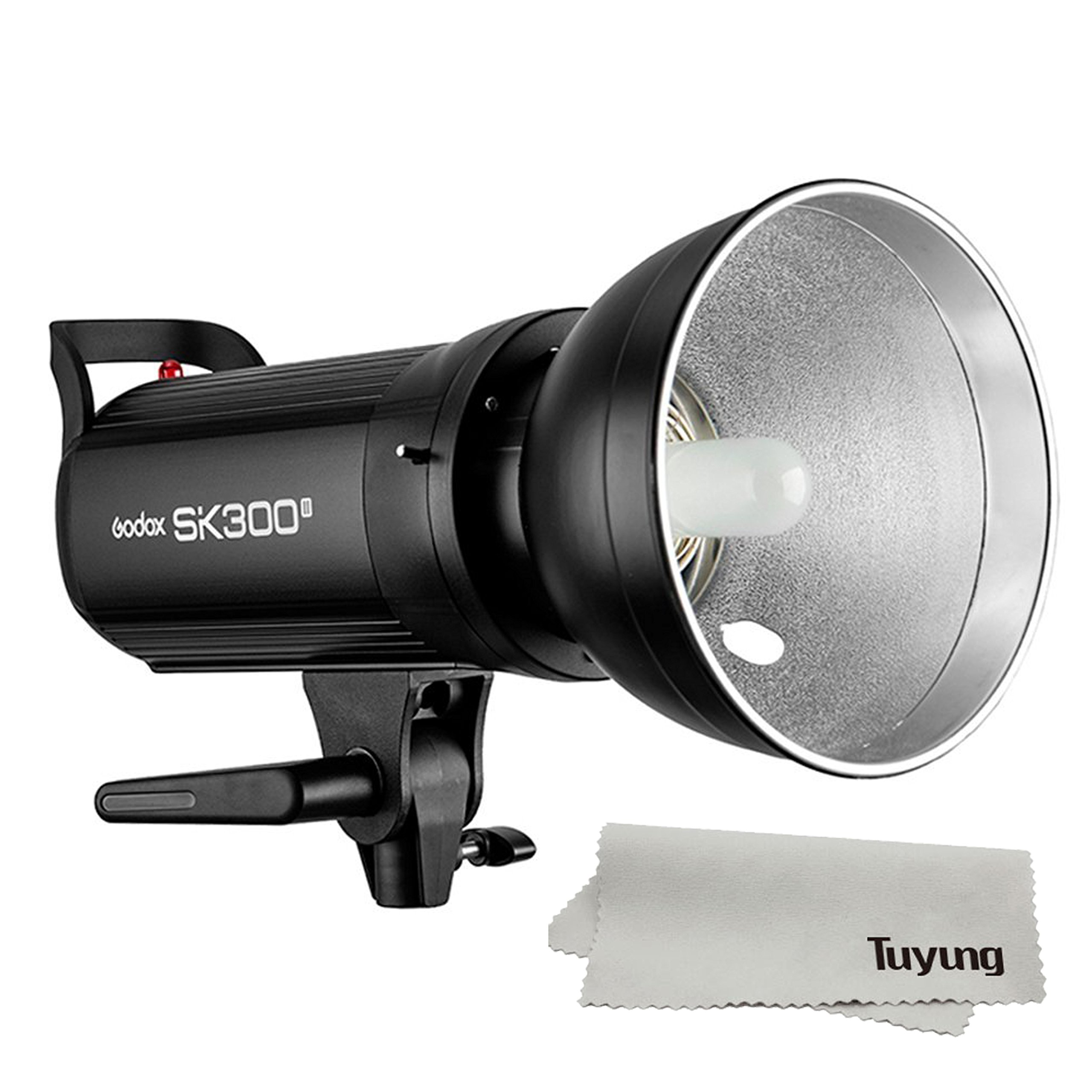 Godox SK300II 300 Monolight with Built-in Godox 2.4G Wireless X System Bowens Mount Strobe Flash for Photography Lighting Portrait Photography